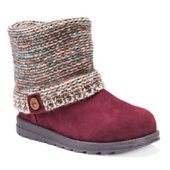 Muk Luks Patti Womens Water Resistant Winter Boots