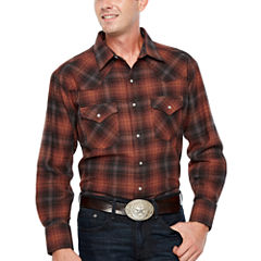 Ely Cattleman Brawny Flannel Snap