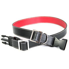 Royce Leather Two-Tone Genuine Leather Collar