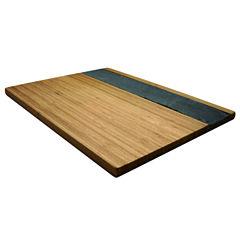 Epicureanist Bamboo & Slate Cheese Board