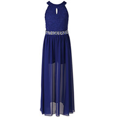 Speechless Sleeveless Maxi Dress - Big Kid Girls
