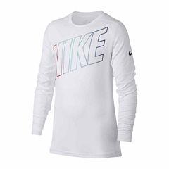 Nike Long Sleeve Compression-Big Kid Boys