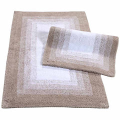 Whitney Ombre Reversible 2 Piece Bath Rug Set