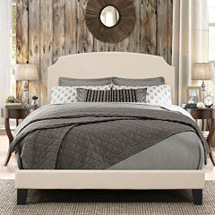Bedroom Possibilities Addison Upholstered Bed