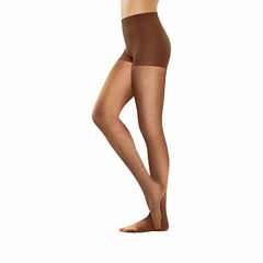 Hanes Perfect Net Short Pantyhose - Plus