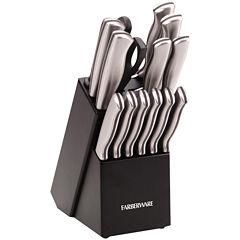 Farberware® 15-Piece Stainless Steel Knife Set