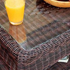 Wicker Patio Coffee Table