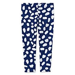 Okie Dokie Stripe Jersey Leggings - Toddler Girls