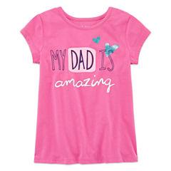 Okie Dokie Graphic T-Shirt-Preschool Girls