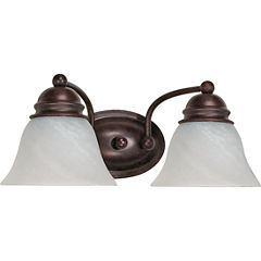 Filament Design 2-Light Old Bronze Bath Vanity