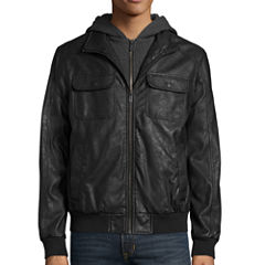 IBUFFALO FAUX HOODED JACKET
