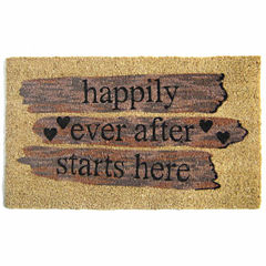 Happily Ever Rectangular Doormat - 18