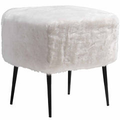 Zuo Modern Fuzz Bar Stool