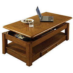 2 Drawer Lift Top Coffee Table
