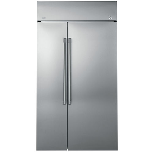 GE Cafe Series 25.2 cu. ft. 42 Built-In Side-by-Side Refrigerator