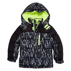 Xersion Heavyweight Camouflage Puffer Jacket - Boys-Big Kid Husky