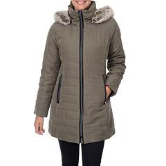 Fleet Street Quilt Faux Fur-Lined Jacket
