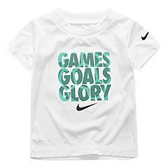Nike Short Sleeve Crew Neck T-Shirt-Toddler Boys