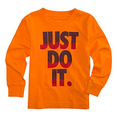 Nike Long Sleeve T-Shirt-Preschool Boys 4-7