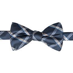 Stafford Grid Bow Tie