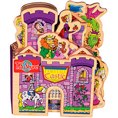 Little Wooden Book Fairytale Castle Activity Book
