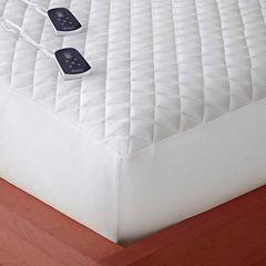Micro Flannel® Heated Mattress Pad