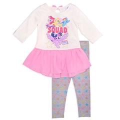 2-pc. Legging Set-Toddler Girls