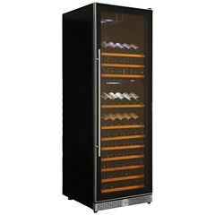Koolatron 160-Bottle Dual-Zone Wine Cooler