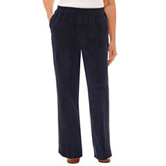 Alfred Dunner Relaxed Fit Corduroy Pants