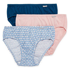 Jockey® Elance® 3-pk. Cotton Bikini Panties - 1489