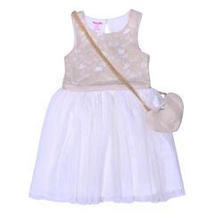 Nanette Baby Sleeveless Skater Dress - Toddler Girls
