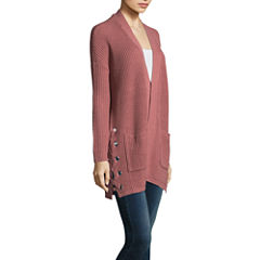 Arizona Lace Up Cardigan-Juniors