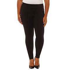 Boutique + Slim Pants-Plus
