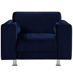 Amarillo Velvet Club Chair