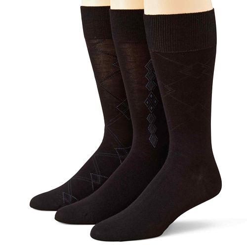 Stafford® 3-pk. Rayon from Bamboo Crew Socks