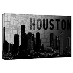 Brushstone Houston Gallery Wrapped Canvas Wall Art