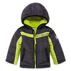 US Polo Assn. Heavyweight Puffer Jacket - Boys-Baby