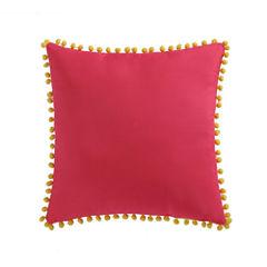 Laura Hart Kids Fruity Pom Pom Throw Pillow