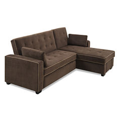 Serta Jacqueline Track Arm Sleeper Sofa