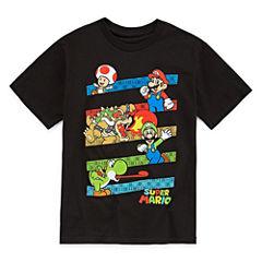 Super Mario Super Mario Graphic T-Shirt-Big Kid Boys