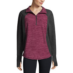 St. John's Bay Active Quarter-Zip Pullover