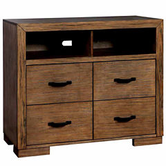 Henderson 1-Drawer Media Chest