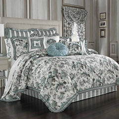 Queen Street Anabelle 4-pc. Floral Midweight Comforter Set