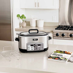 Ninja® 4-in-1 Cooking System with Auto-iQ™ (Slow Cooker, Steamer, Bake, Sear/Saute/Brown)   CS960