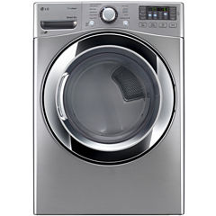 LG ENERGY STAR® 7.4 cu. ft. Ultra Large Capacity Gas SteamDryer™ with NFC Tag On