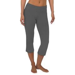 Jockey® Slim-Fit Flare-Leg Capris
