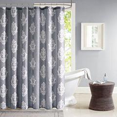 Madison Park Kensington Texture Shower Curtain
