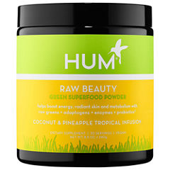Hum Nutrition Raw Beauty Skin and Energy Superfood Powder - Coconut & Pineapple Tropical Infusion