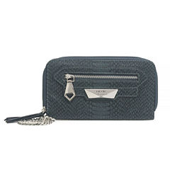 Nicole By Nicole Miller Tasha Triple Zip Clutch Wallet