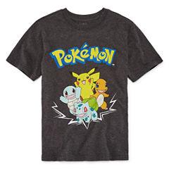 Pokemon Graphic T-Shirt-Big Kid Boys